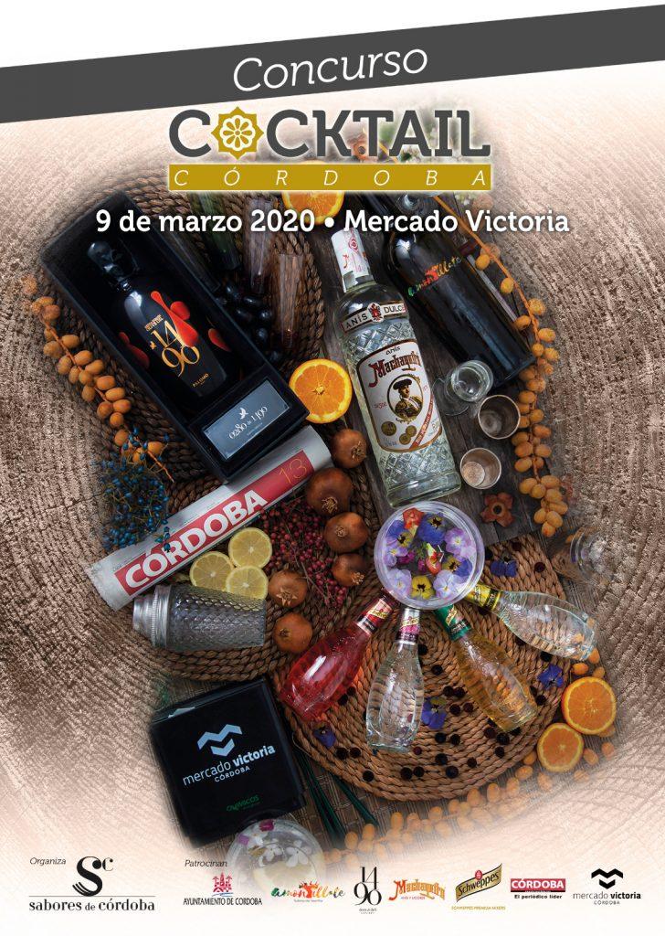 Cartel concurso Cocktail Córdoba 2020