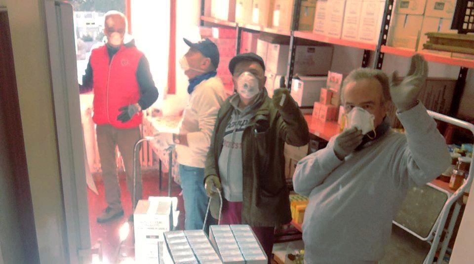 FOTO Banco de Alimentos de Córdoba afectado por el coronavirus 2020