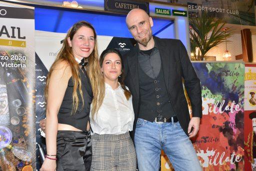 Mara de Miguel, Elena Iosub y Javier Caballero